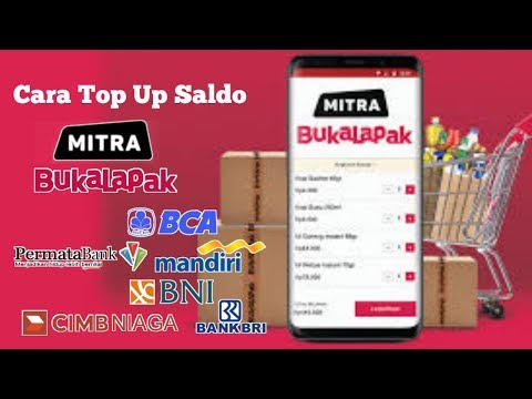 Cara Isi (Top Up) Saldo Mitra Bukalapak