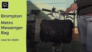 New 2020 Brompton Metro Messenger Bag, Replacing The C Bag