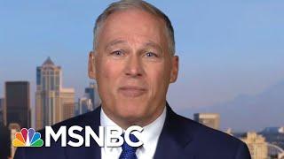 Governor Jay Inslee On Climate, Jobs, Joe Biden | Velshi & Ruhle | MSNBC