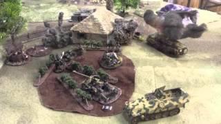 Bolt Action Battle Report   GERMANY v USSR 1250pt