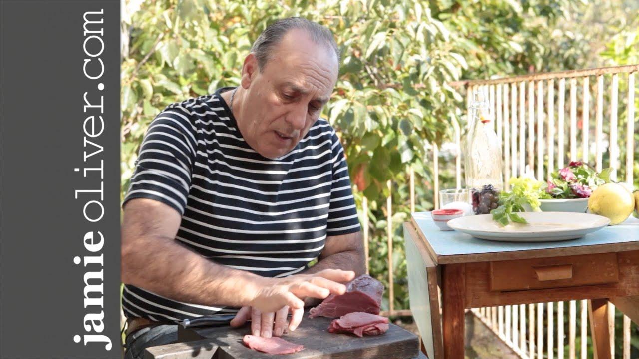 How to make Beef Carpaccio with Gennaro Contaldo