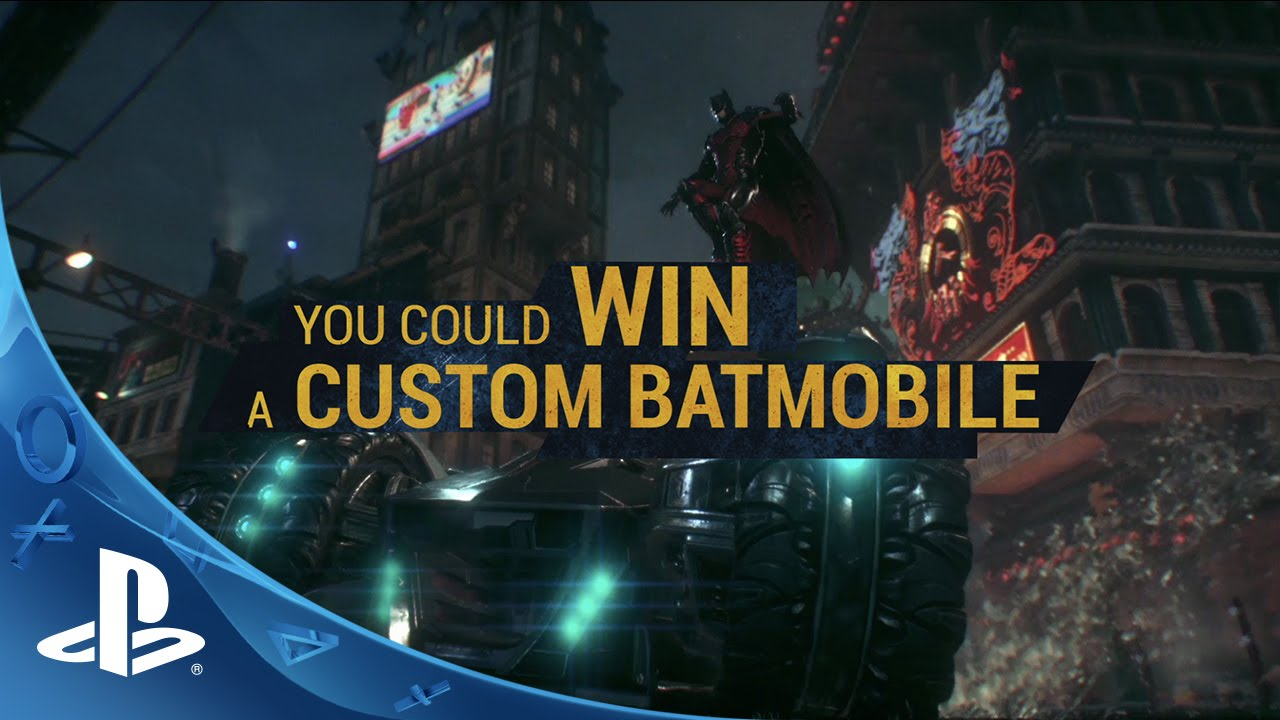 Want to Win Your Own Custom Batmobile?