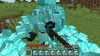 Minecraft but item drops multiply every second...