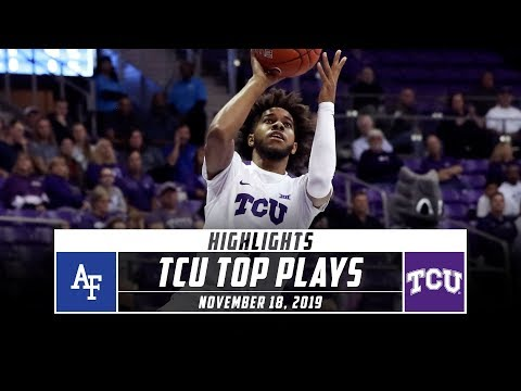 TCU Basketball Top Plays vs. Air Force (2019-20) | Stadium