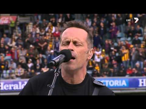 Hunters And Collectors - Live at 2013 AFL Grand Final