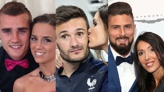 FIFA World Champion France ... and their real life partners