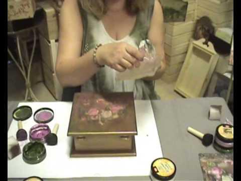 Decoupage και διακόσμηση με μικτή τεχνική
