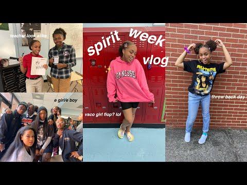 spirit week vlog 2019 (but at a performing arts school) | seasonsofshai