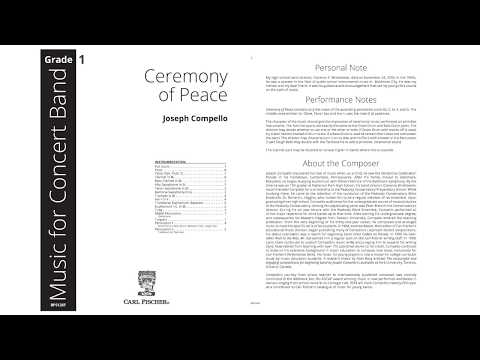 Ceremony of Peace (BPS126) by Joseph Compello