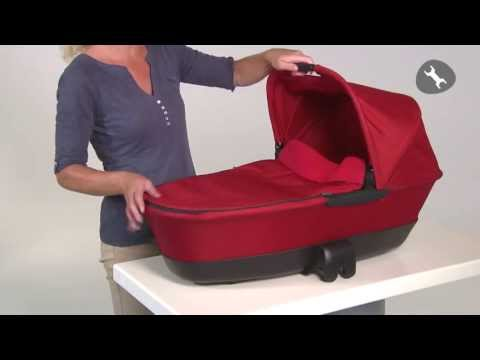 Maxi-Cosi | How to use the Foldable Carrycot – Australia