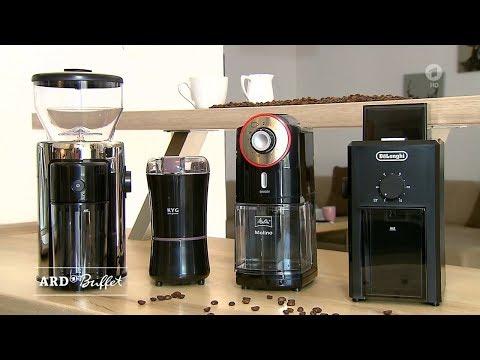 Test: elektrische Kaffeemühlen / 5:33 Tipps: Küchenmesser (07.11.2019 ARD-Buffet)