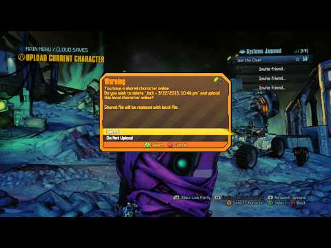 Help transferring saves from Xbox 360 to 1 :: Borderlands 2 General