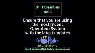 IT Techno-Phobes Limited Tip 1 – IT Support Services In Brierley Hill