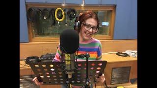 Gabriella Greison ospite su Rai Radio3 a PzaVerdi, intervista di mezzora con pezzi di EINSTEIN & ME