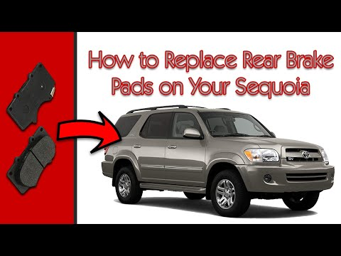 Toyota Parts | Toyota Sequoia Maintenance - Replace Brake Pads
