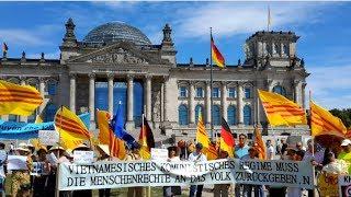Biểu Tình Đồng Hành Cùng Quốc Nội thứ bảy ngày 7.7.2018 tại Berlin – Đức