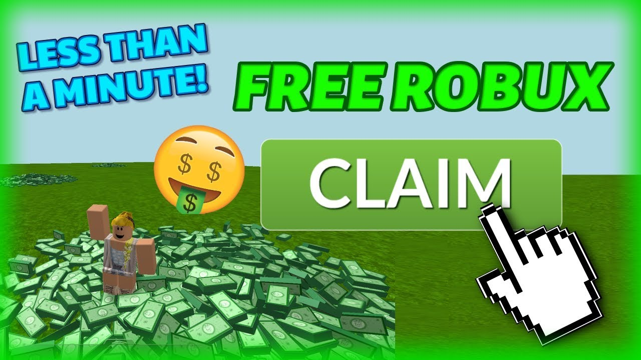 HOW TO GET FREE ROBUX IN LESS THAN 1 MINUTE! **Not Clickbait**