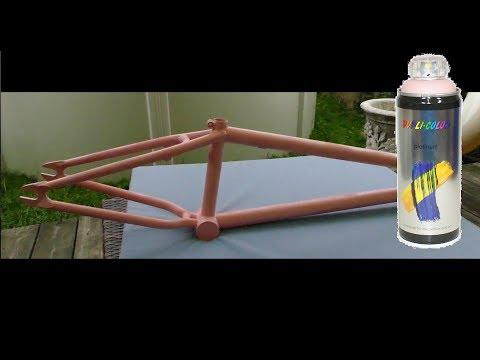 Fahrrad lackieren in 4 einfachen Schritten