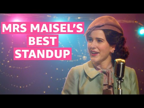 The Marvelous Mrs. Maisel Best Standup Bits | Prime Video