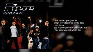 Five: 01. Let's Dance (Lyrics)
