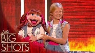 Darci's Duet Blows The Audience Away | Little Big Shots