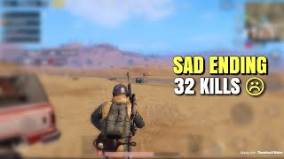 Killing Everyone In Sight | PUBG Mobile | 32 KILLS