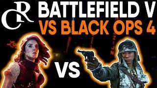 Battlefield Veteran Plays Call of Duty Black Ops 4 - Battlefield V VS COD Black Ops 4