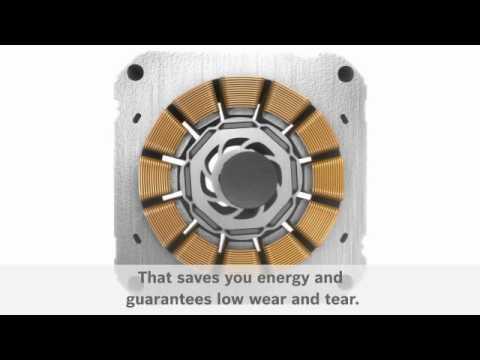 Bosch Freestanding Washer Dryer WVG3047SGB - Silver Video 5