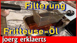 Frittier-öl einfach wieder verwenden durch Filterung, ganz einfach Tutorial No. 314