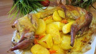 Бесподобный Кролик с Овощами! Самый Вкусный Рецепт!
