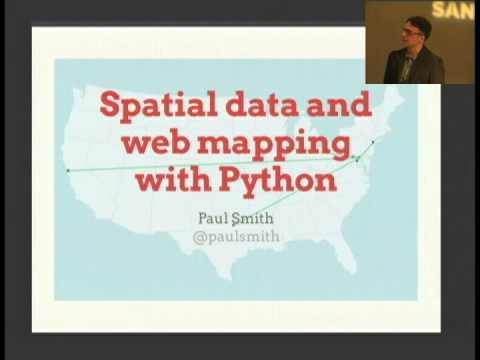 Image from Spatial data and web mapping with Python