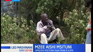 Naivasha elderly man who lived in forest for nearly 10 years  rescued by residents