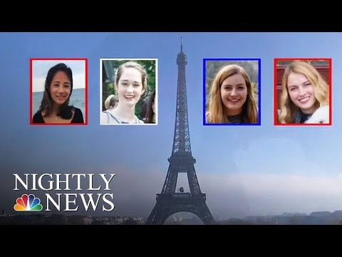 American College Students Recovering From Acid Attack in Marseilles France | NBC Nightly News