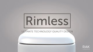 RAK Rimless Toilet Technology