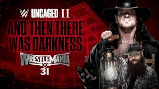 Darkness falls upon this WWE Uncaged II anthem