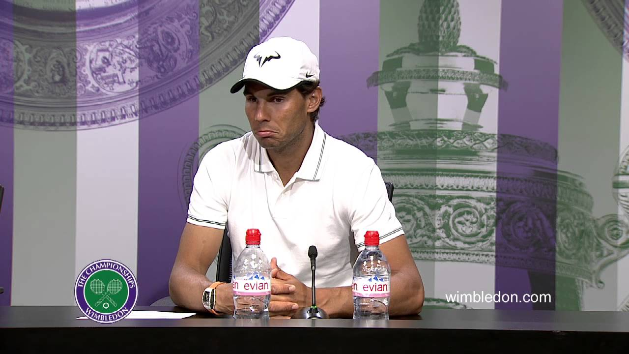 Rafael Nadal First Round Press Conference #Nadal