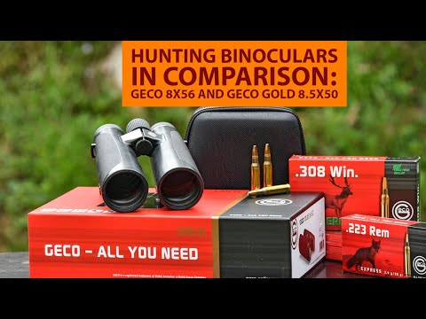 Geco: Test: GECO 8x56 and GECO Gold 8.5x50 hunting binoculars in comparison