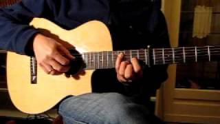 guitar lesson fields of gold eva cassidy