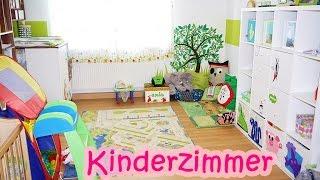 EMILS KINDERZIMMER   Neutrales Wald- und Wiesen-Thema   Roomtour