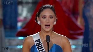[HD] Miss Universe 2015: Top 3 Final Question