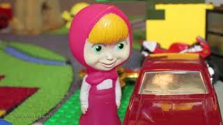 Harmful Bad baby kids  MARY RAN a cartoon Masha bear videos for kids family fun kids movie 2017