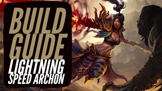 Diablo 3 - Wizard Build Guide Lightning Speed Archon
