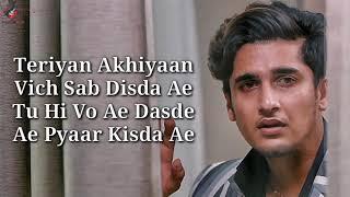 Teriyan Akhiyaan Lyrics   Arun Solanki l Bhavin B   Neha R