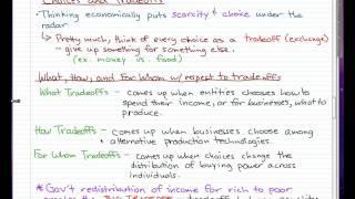 Microeconomics - 4: Let's start thinking economically...