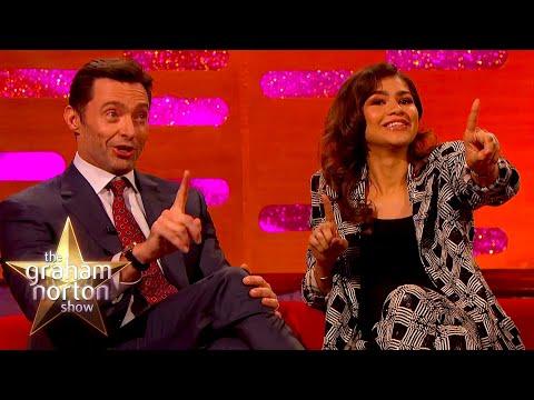 Emmy Winner Zendaya & Hugh Jackman Argue Over Who Farted On Set | The Graham Norton Show