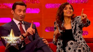 Emmy Winner Zendaya & Hugh Jackman Argue Over Who Farted On Set | The Graham Norton Show