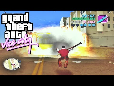 GTA:Vice City Deluxe (2004) - Ultra Best Trainer Mod (Gameplay)