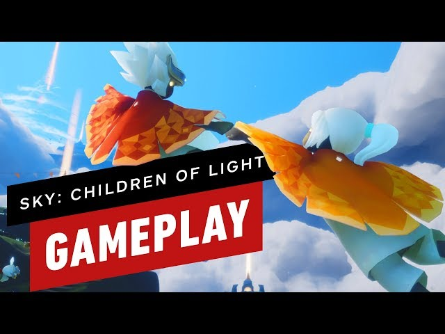 13 Minutes Of Sky Children Light Gameplay Thatgamecompany