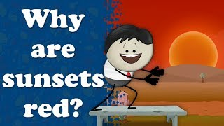 Why are sunsets red? | #aumsum #kids #science #education #children