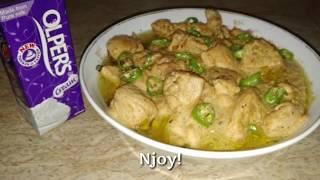 Chicken White Handi, Makhani Handi With Olpers Cream